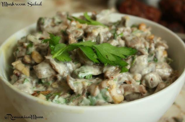 Mushroom Salad Recipe