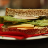 Lunch with Philadelphia: Simple Cheesy Ham Sandwich