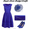 Dress in blue at Royal Ascot 2014