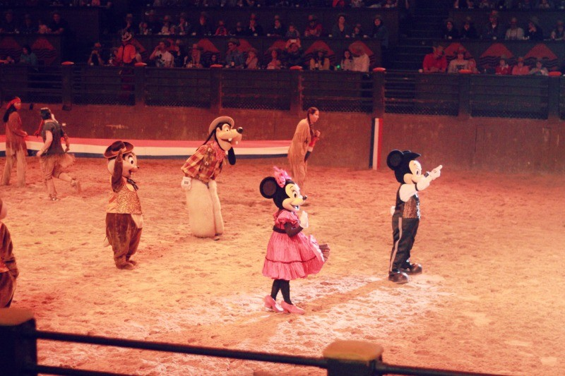 Buffalo Bill's Wild West Show…with Mickey & Friends!