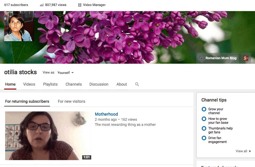 Otilia Stocks YouTube