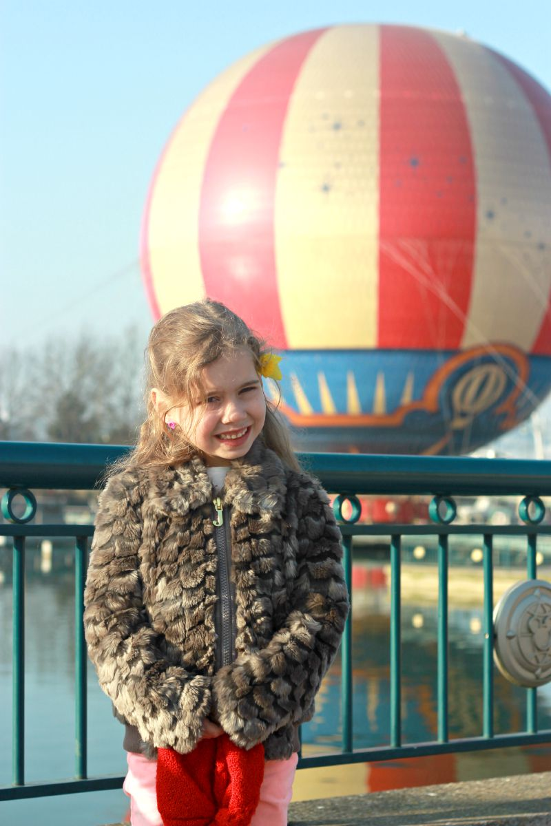 Kara at Disneyland Paris