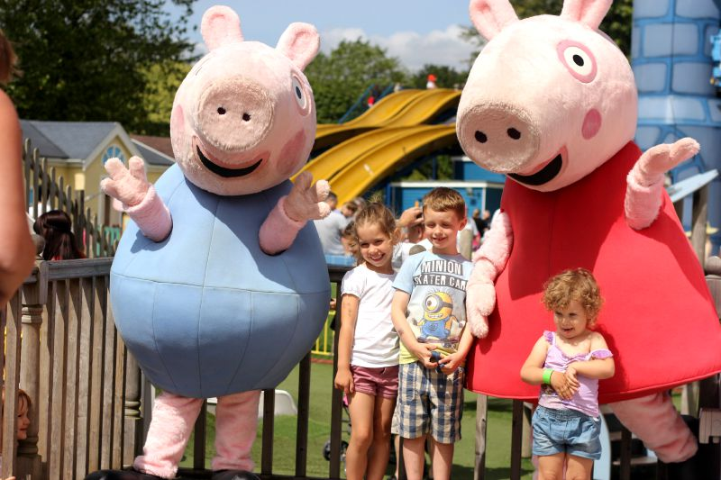 A day out at Peppa Pig World