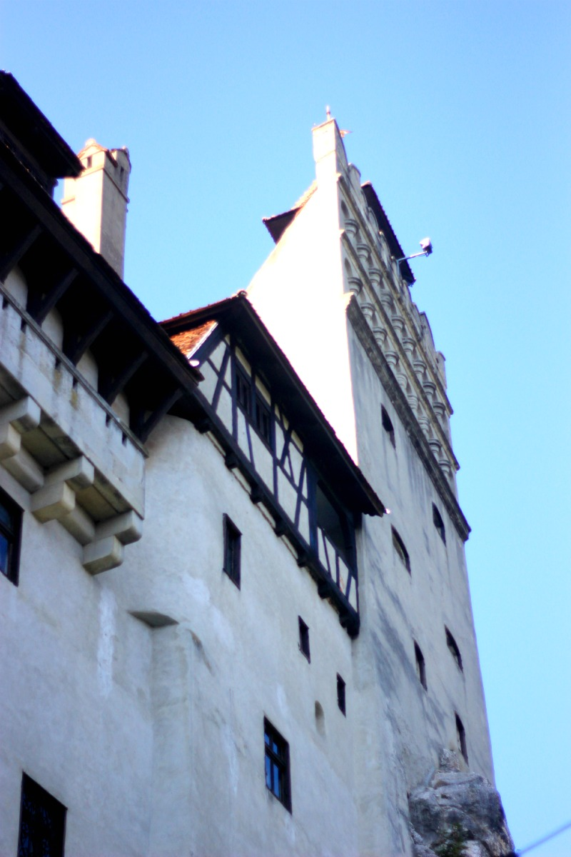 A family visit to Bran Castle