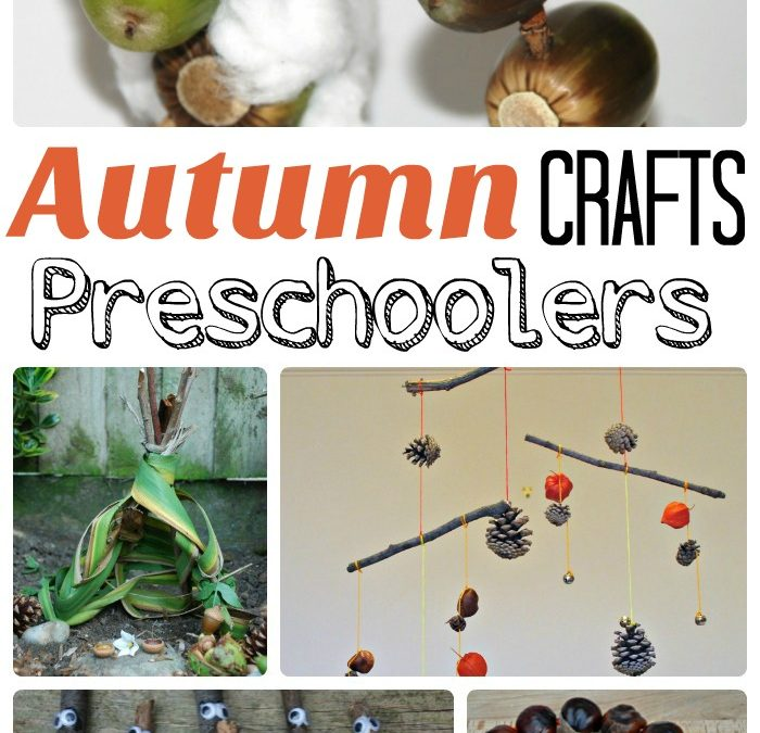 Guest Post from Maggy at Red Ted Art – Autumn Crafts for Preschoolers