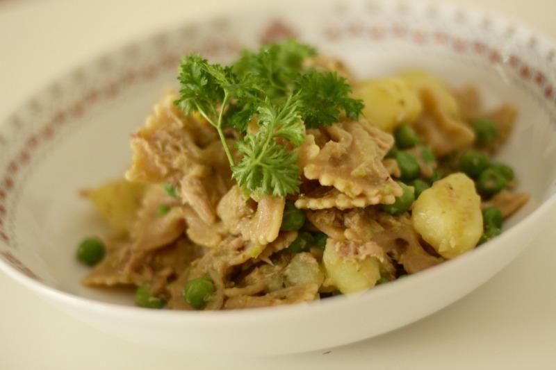 Tuna potato pasta