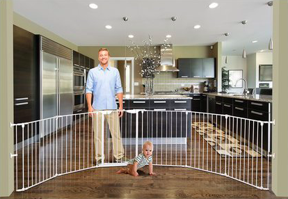 Indoor baby gate