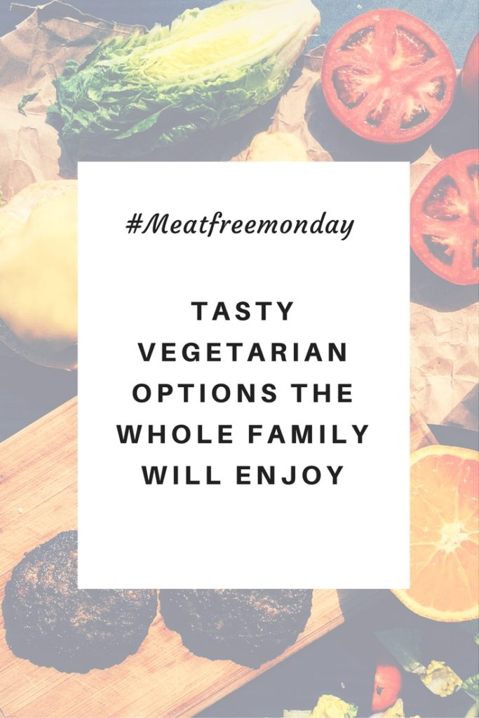 Tasty vegetarian options the whole family will enjoy