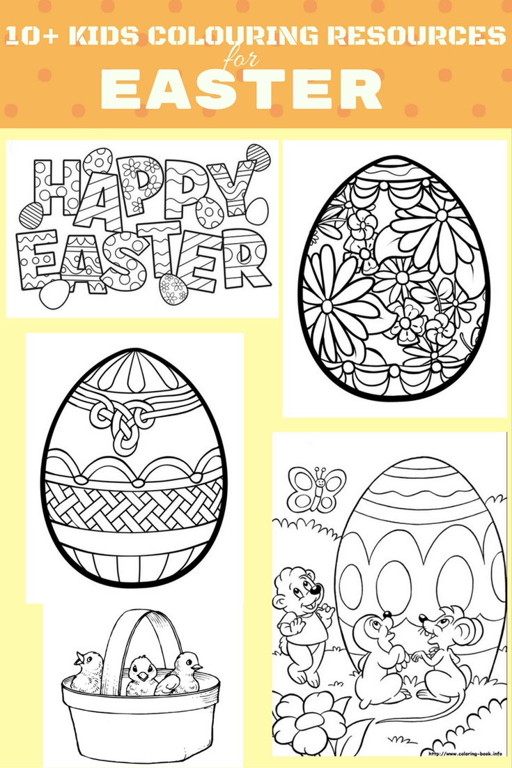 10+ FREE COLOURING RESOURCES FOR KIDS