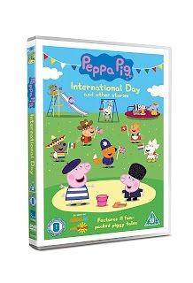Win a Peppa Pig International Day and Other Stories- New DVD