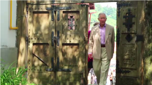 Prince Charles in Romania