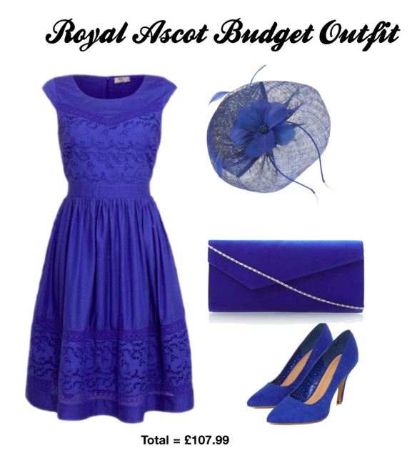 Wear blue at Royal Ascot 2014