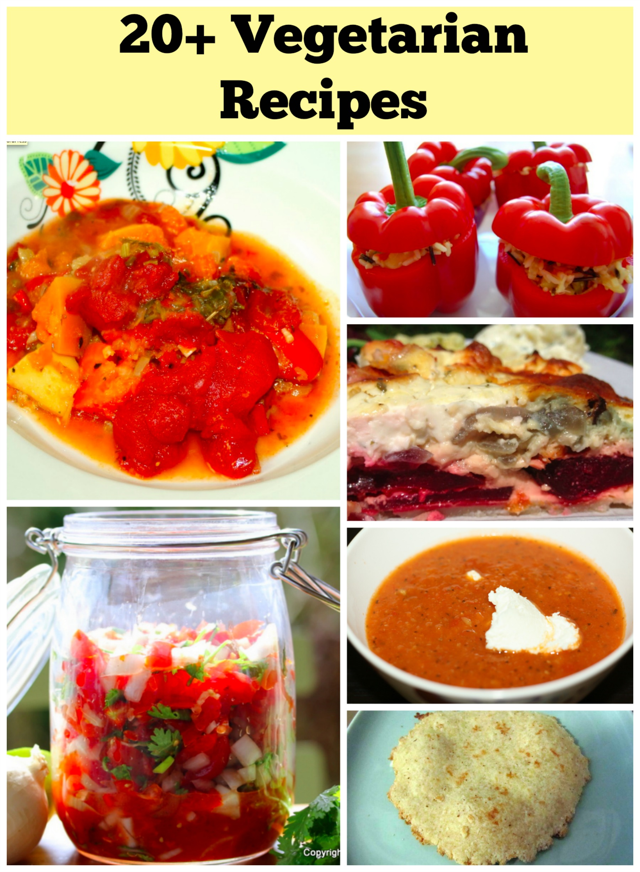 Vegetarian Recipes Round-Up