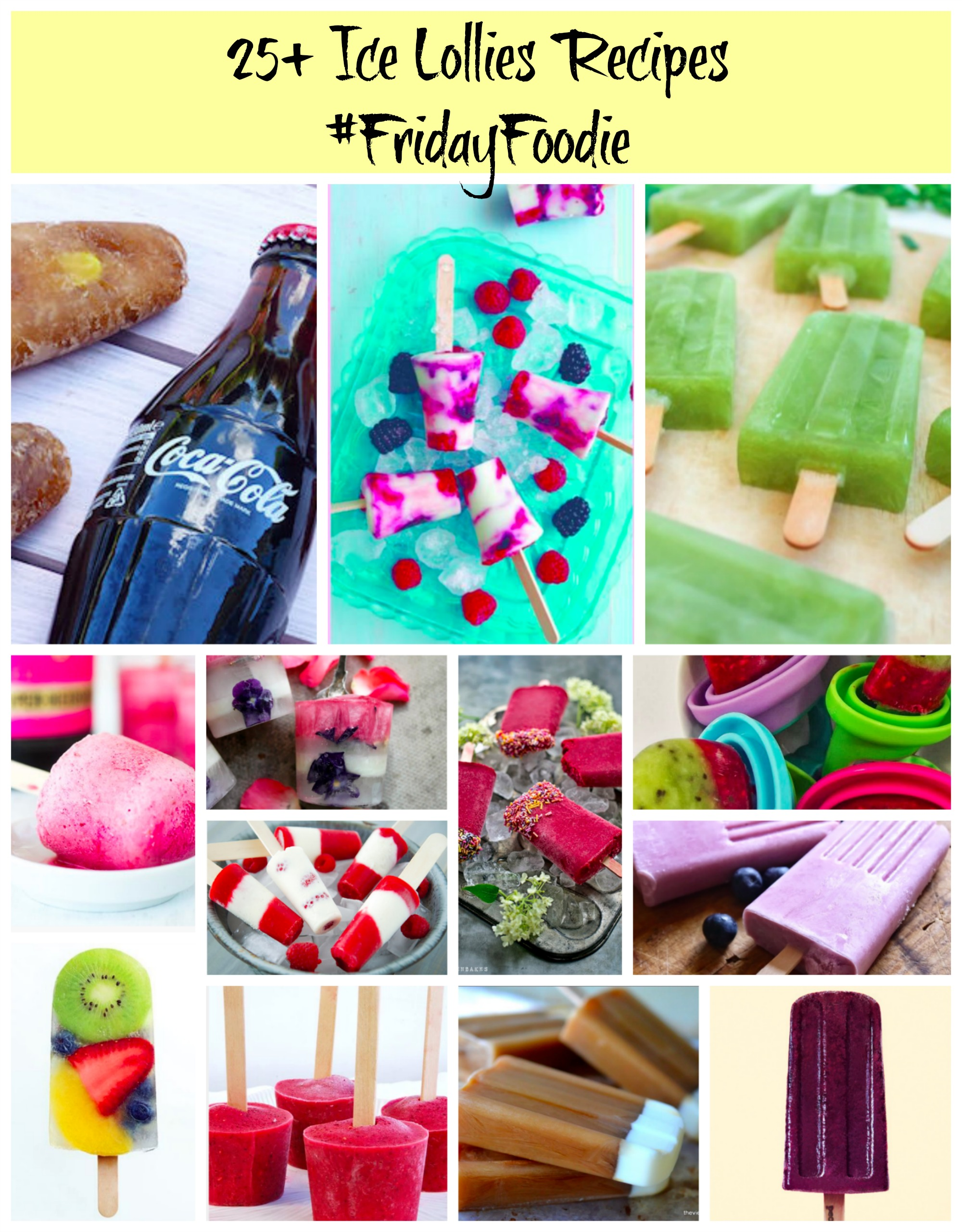 Ice Lollies #recipes
