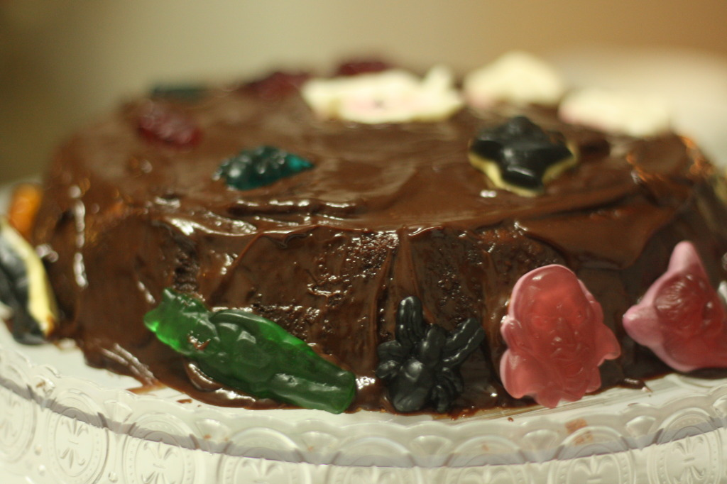 Muddy Chocolate Cake
