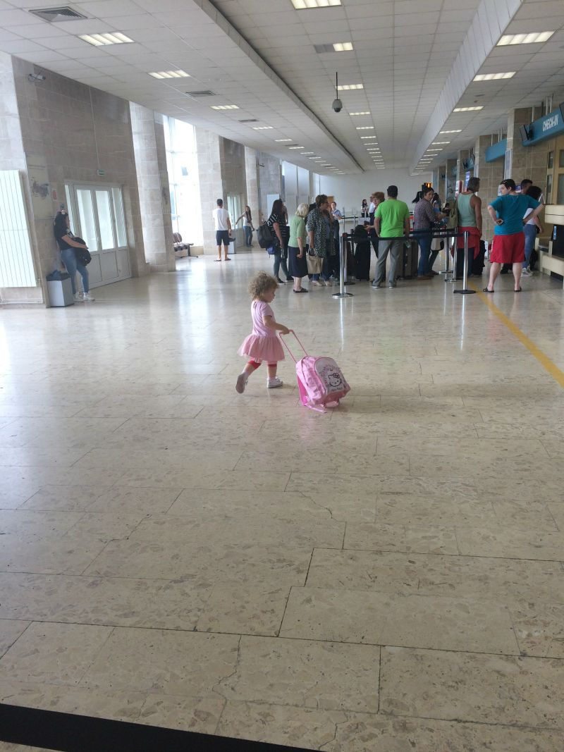 Pack light when travelling with Kids