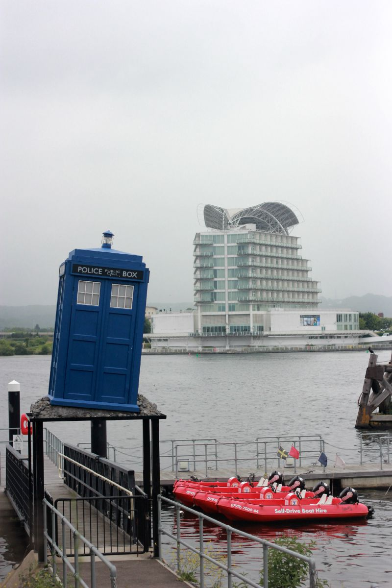 Dr Who Experience - The Tardis Outside the Venue