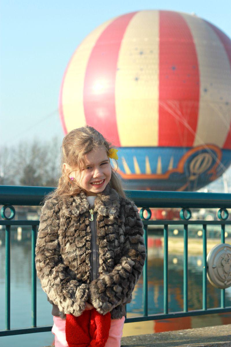 Kara at Disneyland Paris