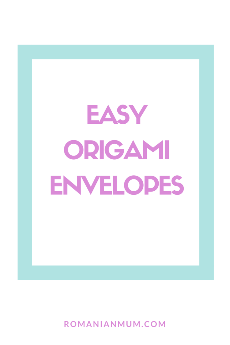 Easy Origami Envelopes