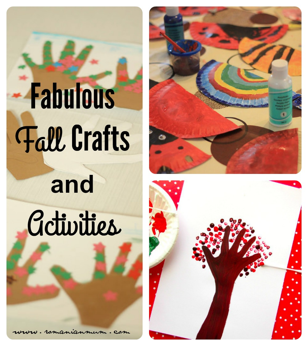 Fabulous Fall Crafts and Activities