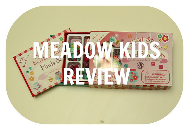 Meadow Kids Sweet Shop Bead Bracelets and Giant Box of Stencils Sets – Review