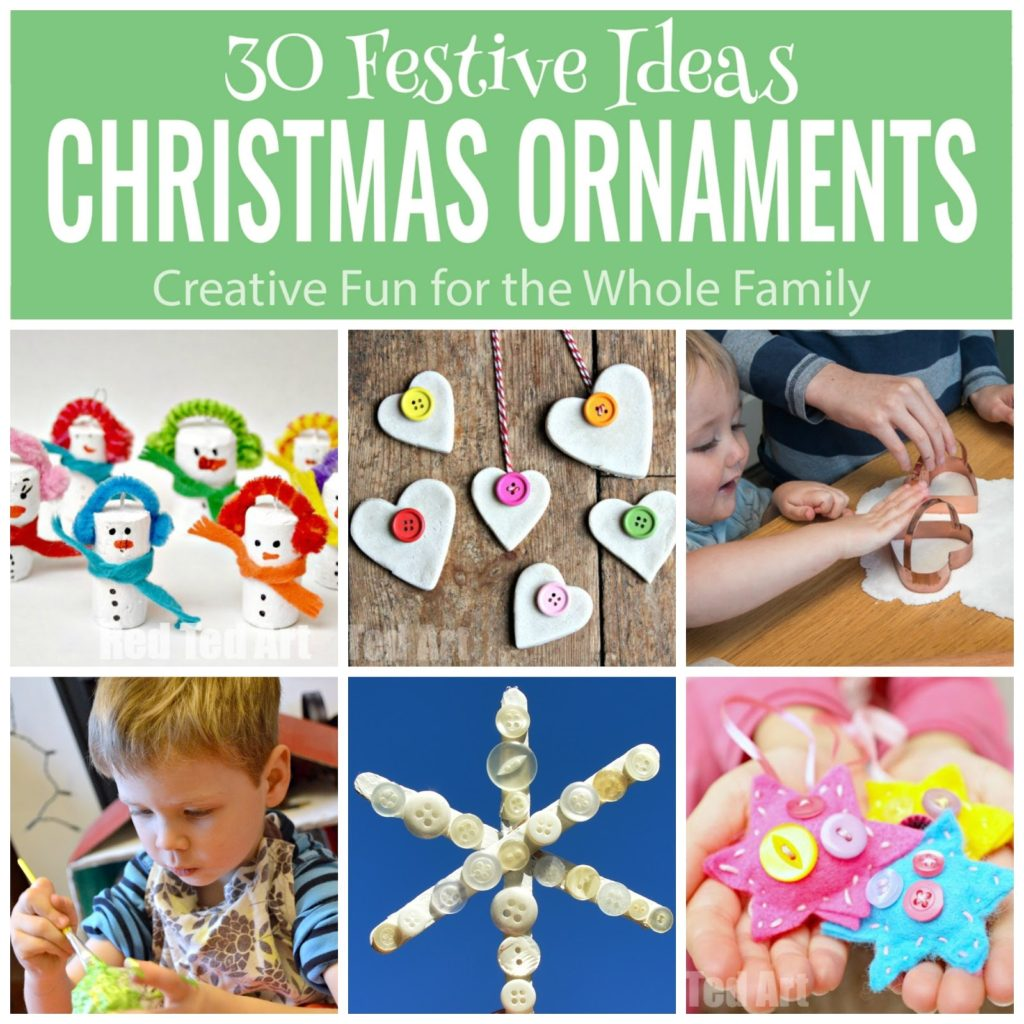 30 Delightful Christmas Ornaments