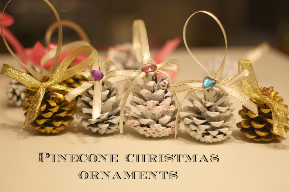 Pinecone Christmas Ornaments