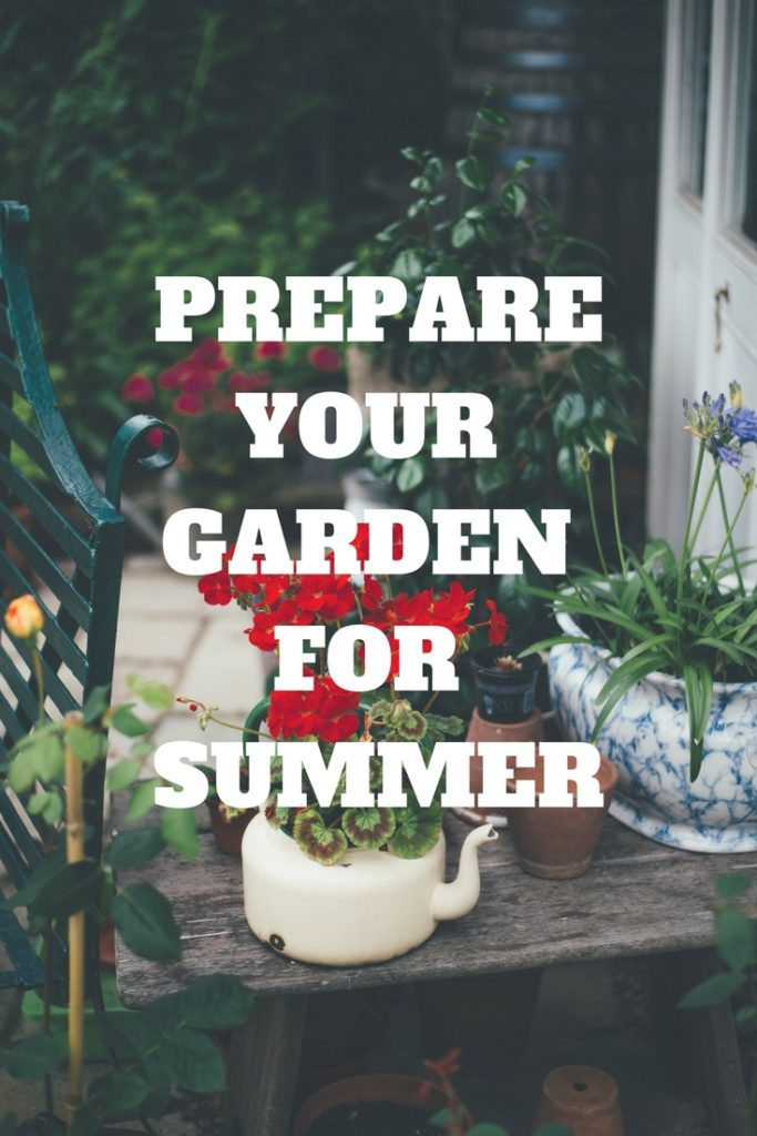 Prepare your Garden for Summer