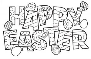 10 Free Easter Colouring Resources For Kids Romanian Mum Blog - Easter-coloring-pages-toddlers