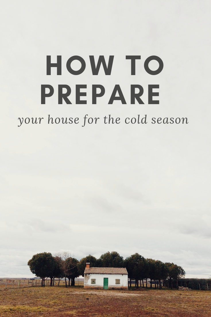 How to prepare your house for the cold season