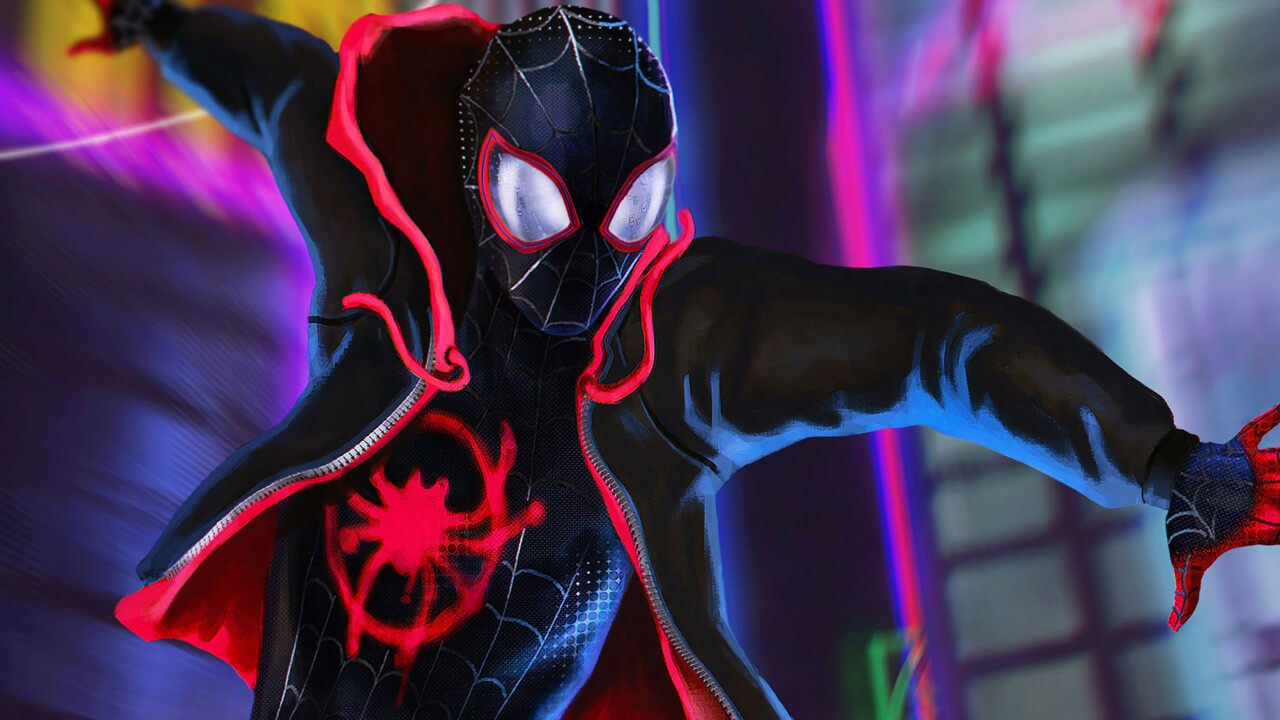 Spiderman into the spider-verse