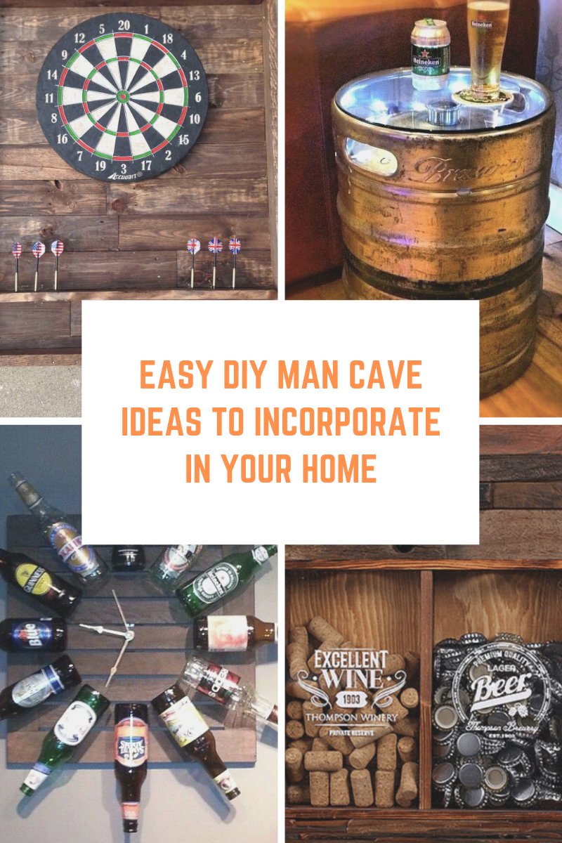 Easy DIY Man Cave Ideas to Incorporate In Your Home